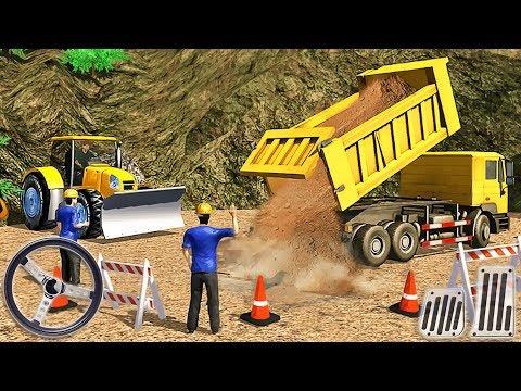 Tunnel Construction Sim 2018 - Mega Machines Simulator - Android GamePlay