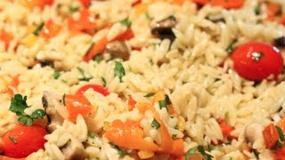 How To Make Delicious Orzo Salad!
