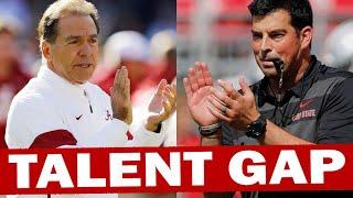 Ohio State - Alabama Talent Gap