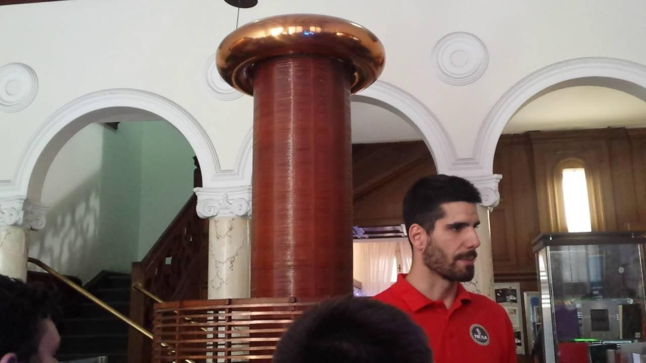 "EGS ""Nikola Tesla"" Zrenjanin u muzeju Nikole Tesle u ..."
