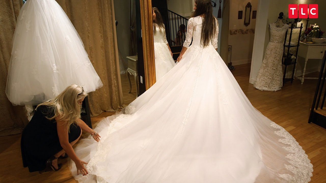 Jinger Duggar Wedding Dress.Jinger Finds The Perfect Wedding Dress Counting On