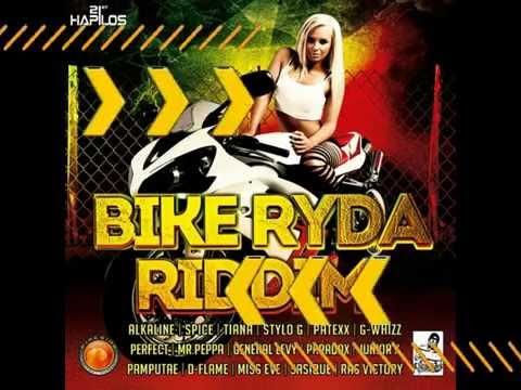 Bike Ryda Riddim Mix by @DjGarrikz || Alkaline, Tiana, Spice, Paradax, Patexx & More || August 2014