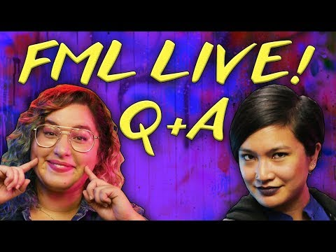 Live Q&A with Rachel and Sapphire PLUS WE'RE DYING RACHEL'S HAIR! // FML Live | Snarled
