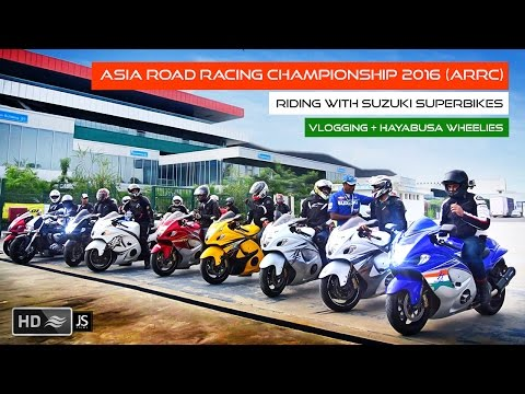 GixxerCup - Taking Hayabusa's To The Buddh International Racetrack  - Part 1