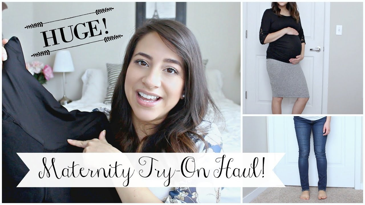 d16c6c27c1e HUGE PINKBLUSH MATERNITY TRY-ON HAUL! Jeans