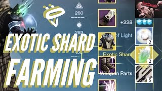 Destiny 1 : Best Exotic Shards Farming Guide : Unlimited Exotic Shards Glitch