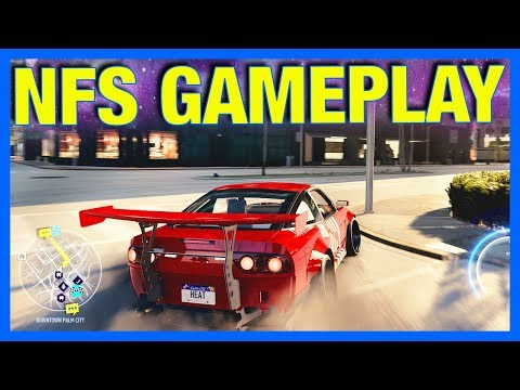 Need for Speed HEAT Gameplay : New Customization, Cars & Cops!!