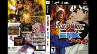 PS1 - Capcom Vs Snk Millenium Fight 2000 Pro