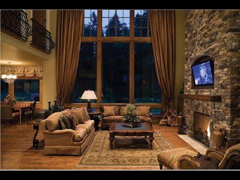 dc67f225e616 ¿Cómo decorar un salón con muebles rústicos? Ideas para decorar un salón  comedor - YouTube