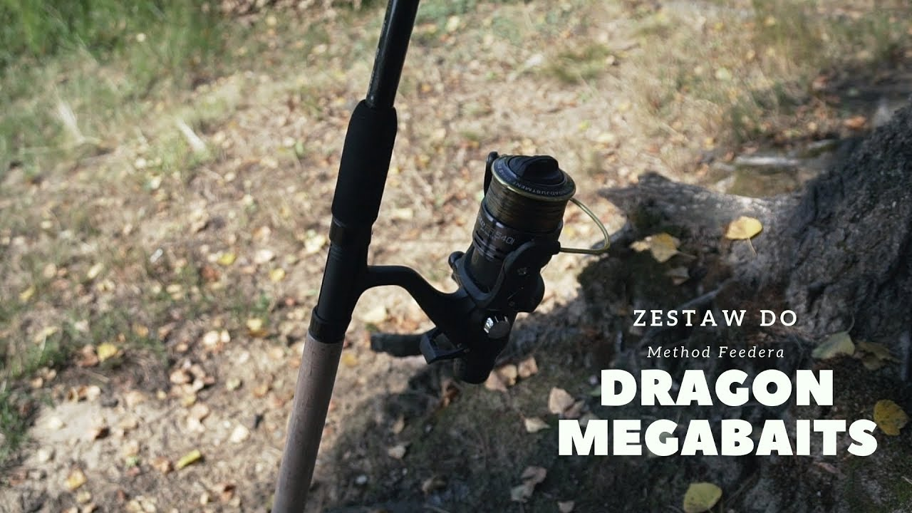 Download Zestaw do Method Feedera – wędka Dragon Black Shadow, kołowrotek Elite FR 540i