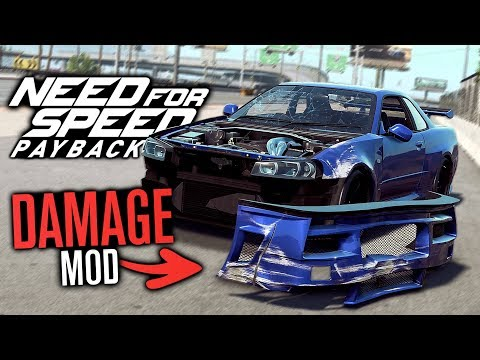 Realistic Damage Mod in Need for Speed Payback!