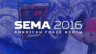 SEMA 2016 Walk-through: American Force Wheels