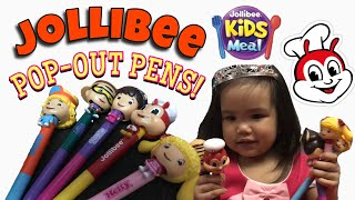 Jollibee Pop-out Pens (unboxing)