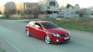 Opel Astra H GTC 18` Wheels.mp4