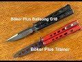 Böker Plus Balisong G10 Large 06EX012