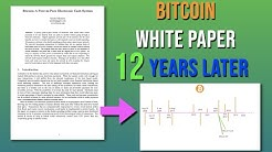 History And Future of BTC? Bitcoin White Paper Explained