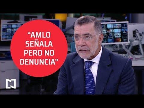 René Delgado: López Obrador hace señalamientos, pero no denuncia a exfuncionarios