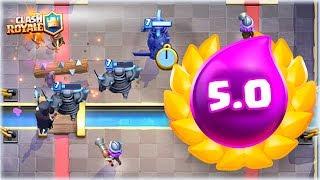 ¡¡ 5.0, EL MAZO MÁS AGRESIVO DE TODO CLASH ROYALE !! - [WithZack] thumbnail
