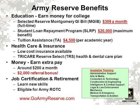 How To Go To College Using Your Reserve/National Guard School Benefits