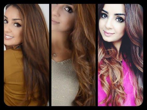 Schnell lange Haare, meine Haargeschichte, Haarfarbe,...