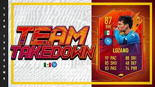 FASTEST PLAYER IN THE GAME!!! FIFA 21 Team Takedown on Headliners Lozano!!