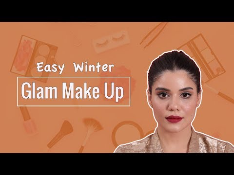 My Quick and Easy winter glam make-up | Roshni Bhatia
