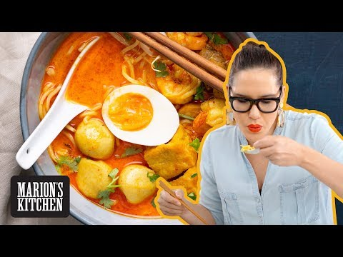 Easy laksa at home... in just 15 minutes! 🙌💯🙌💯 Marion's Kitchen