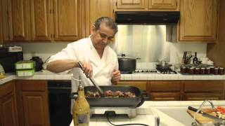 Cooking Albondigas (mexican Meatballs)
