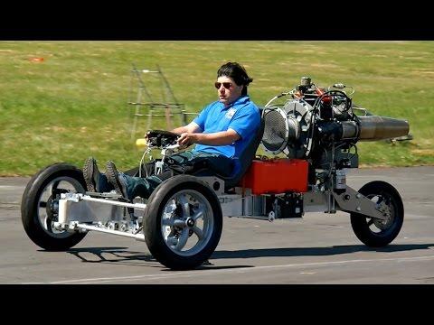 "Jet Turbine powered Trike Bike Krad Vehicle ""Days of Speed and Thunder 2015"" *1080p50fpsHD*"