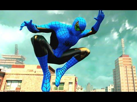 Человек Паук мультик игры для детей Он спасает людей в большом городе Лучший Супергерой