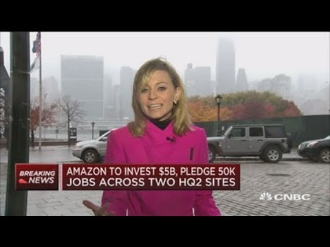 Amazon to bring 25,000 jobs to Long Island City