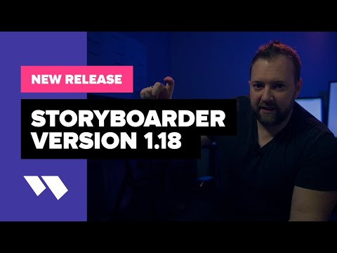 New Release: Storyboarder Version 1.18 - Wonder Unit