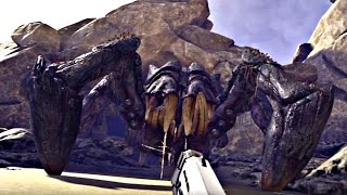 FARPOINT - Giant Spider Boss Fight (1080p 60fps) PS4 PRO