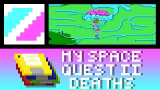 Space Quest II Deaths