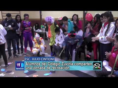 Alumnos del Colegio Zuviria comparten una jornada de recreación