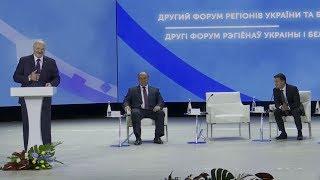 Зеленский напугал Лукашенко на встрече в Житомире