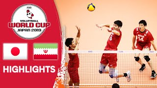 JAPAN vs. IRAN - Highlights | Men's Volleyball World Cup 2019