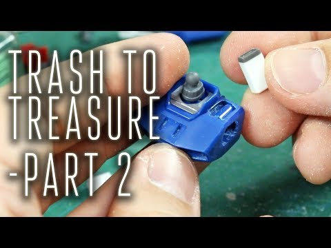 1353 - Gunpla Trash to Treasure: HGUC Tristan Pt.2