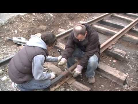 Exploring the Newfoundland railway #38  Building 90 feet of Narrow gauge track