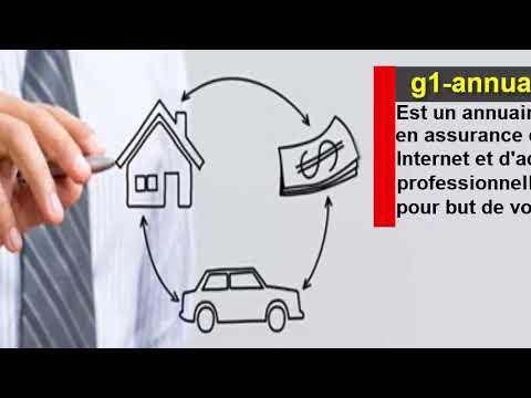 G1 annuaire des assurances