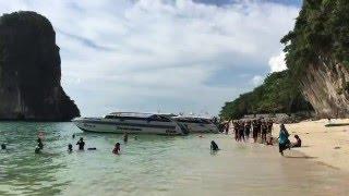 Ao Nang - Pranang Cave Beach (Phra Nang)  -  4K / UHD - (Krabi  - Thailand)