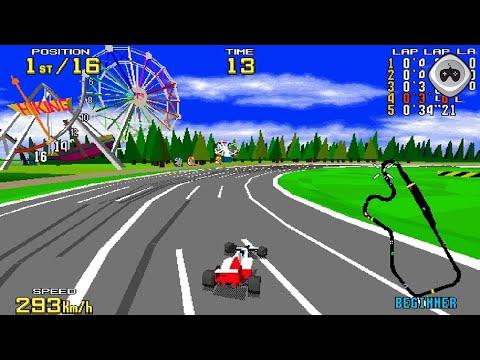 Virtua Racing (バーチャレーシング) by AM2/Sega (1992) - Arcade Longplay