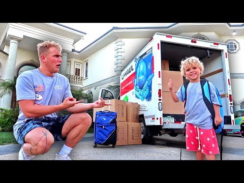 MINI JAKE PAUL IS MOVING INTO THE TEAM 10 HOUSE...