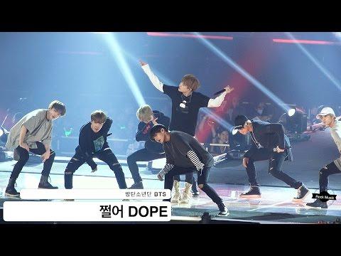 방탄소년단 BTS[4K 직캠]쩔어 DOPE@20160907 Rock Music
