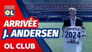 Arrivée : Joachim Andersen | Olympique Lyonnais