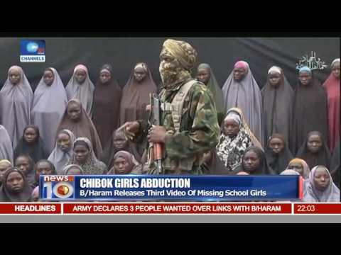 B/Haram Releases Third Video Of Missing Chibok School Girls