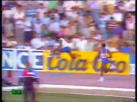 EDWIN MOSES vs. DANNY HARRIS, Madrid 4Jun1987