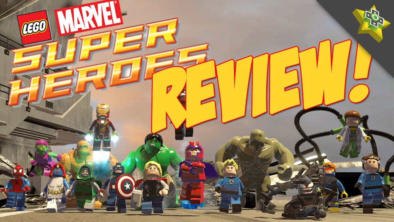 marvel lego review