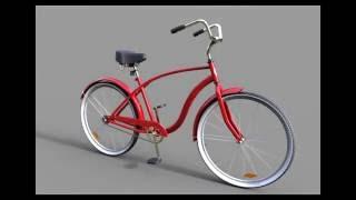 Велосипед Schwinn Cruiser One. Сборка и рендер в KeyShot(Последняя часть серии видео о создании велосипеда Schwinn Cruiser One. В этой части вы увидите собранный велосипед..., 2016-05-29T11:48:38.000Z)