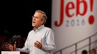 Jeb Bush Promises 4% Growth in Reagan-Like Tax Plan
